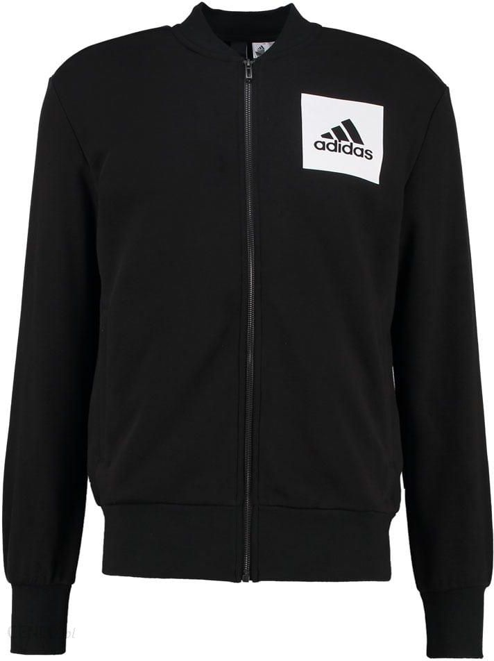 adidas Performance Bluza rozpinana black