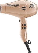 Parlux Advance Light Ceramic Ionic Hair Dryer - Light Gold