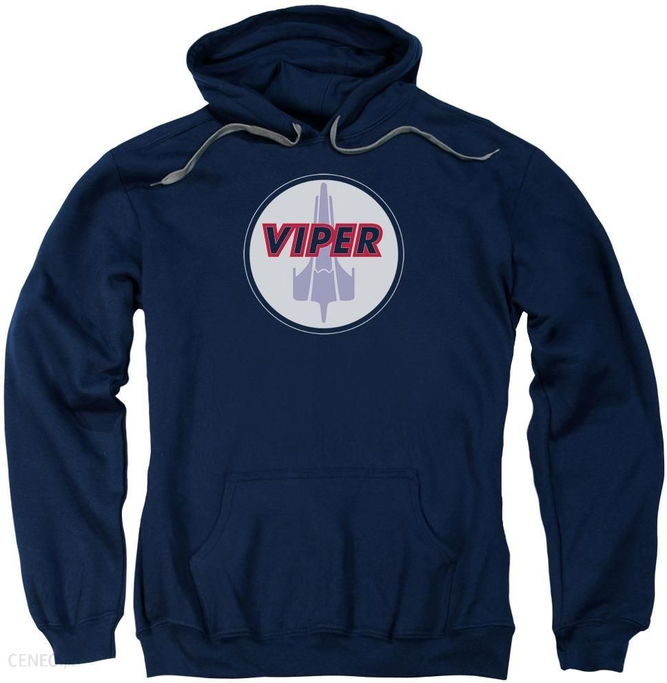 db7f1758c0 Battlestar Galactica Custom Viper Badge Men's Pull-Over 75% Cotton 25% Poly  Hoodie