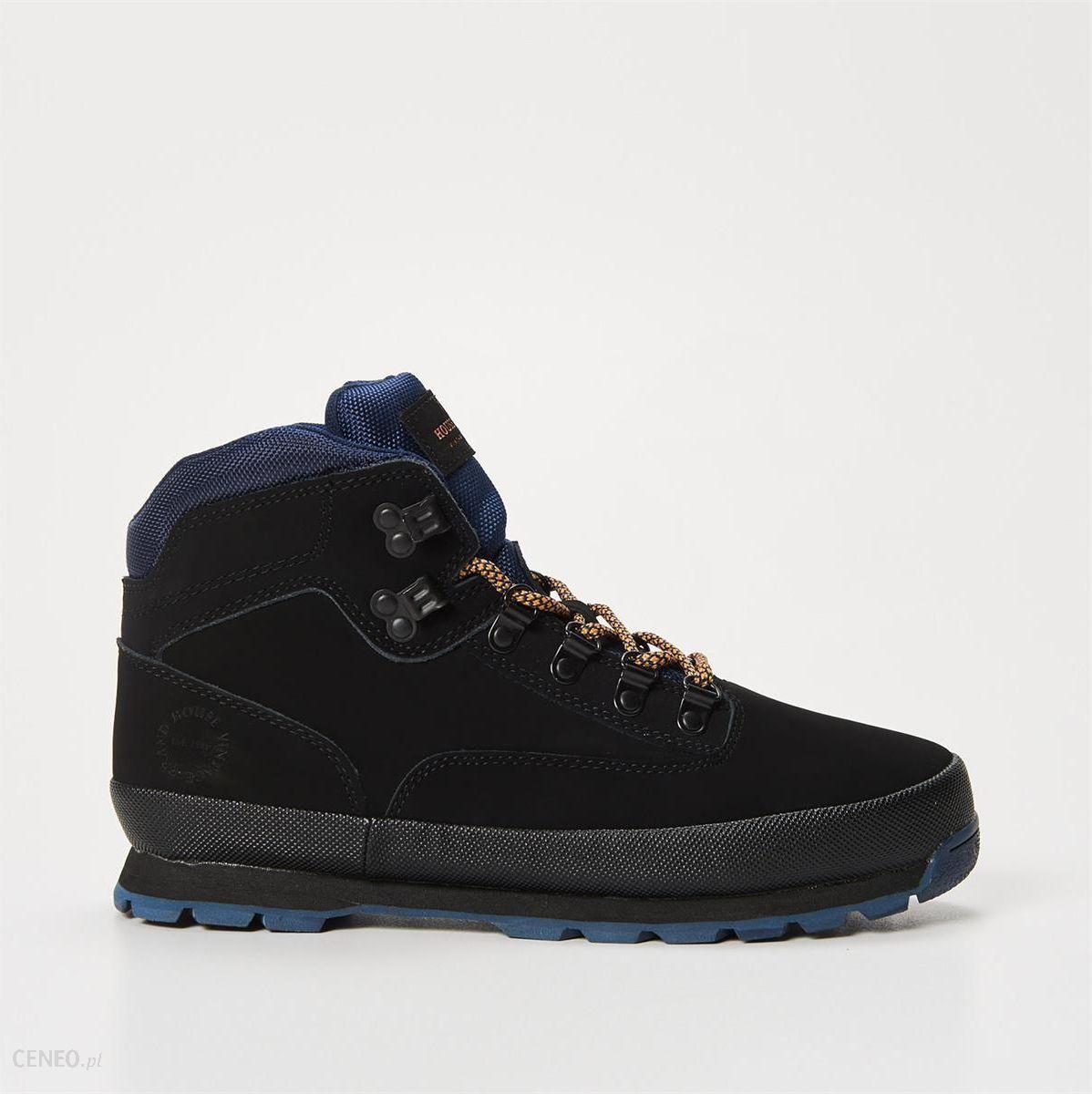 ec38dc6c House - Skórzane buty trekkingowe - Czarny - męska - Ceny i opinie ...