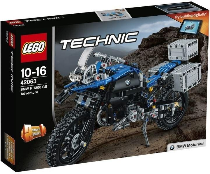 Klocki Lego Technic Bmw R 1200 Gs Adventure 42063 Zdjęcie 1