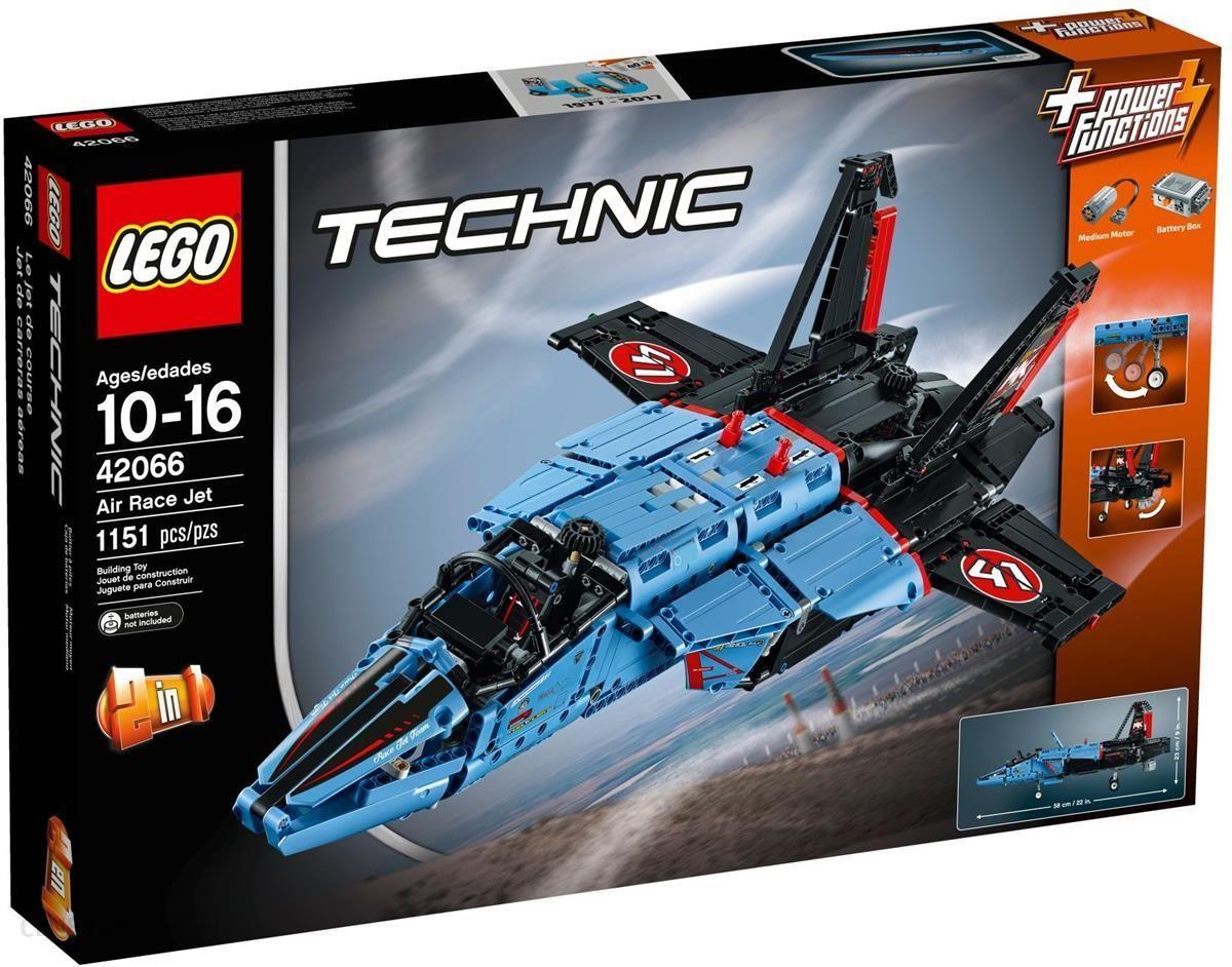 Klocki Lego Technic Odrzutowiec 42066 Ceny I Opinie Ceneopl