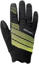 51179ab9c2c Shimano Rękawiczki Thin Windbreak Gloves Czarny Odblaskowe Żółte R. Xl