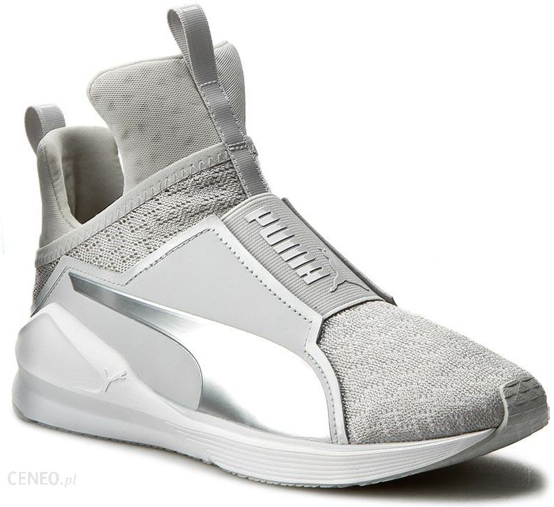 Sneakersy PUMA Fierce Eng Mesh 189417 03 Gray VioletPuma White Ceny i opinie Ceneo.pl