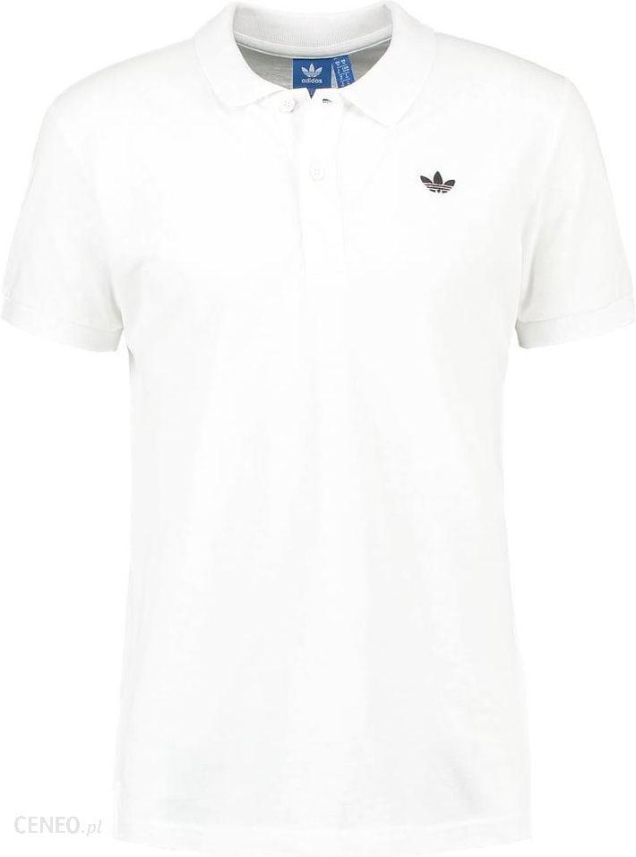 adidas Originals Koszulka polo whiteblack