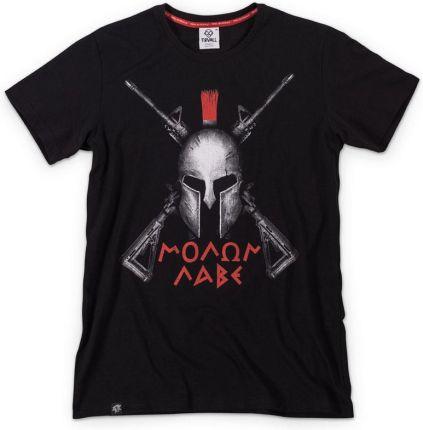 Tirvall Koszulka T-shirt Spartan Molon Labe - Ceny i opinie T-shirty i koszulki męskie MEHY