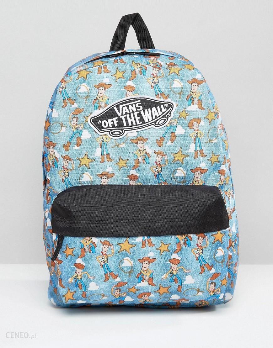 Vans Toy Story Backpack In Woody Print Multi Ceneo.pl