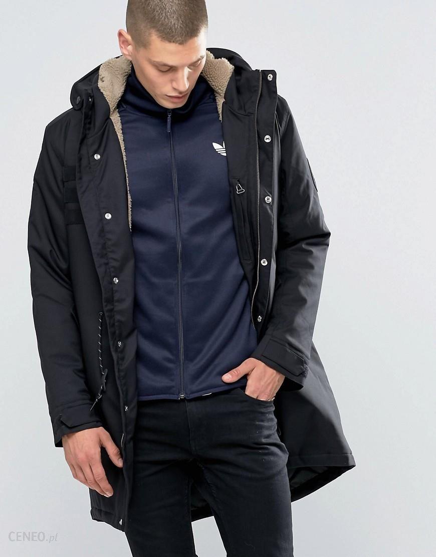 Adidas Originals Quilt Parka In Black AY9140 Black Ceneo.pl