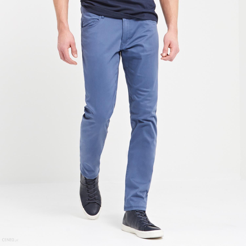 kupować tanio gdzie kupić wyprzedaż resztek magazynowych Reserved - Spodnie regular fit - Niebieski - męska