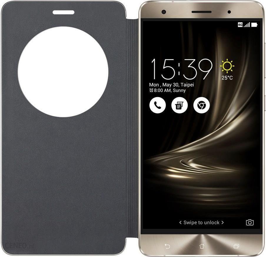 release date 46648 0e5a1 ASUS View Flip Cover do ASUS Zenfone 3 czarny 90AC01D0BCV004 - Etui na  telefon, ceny i opinie - Ceneo.pl