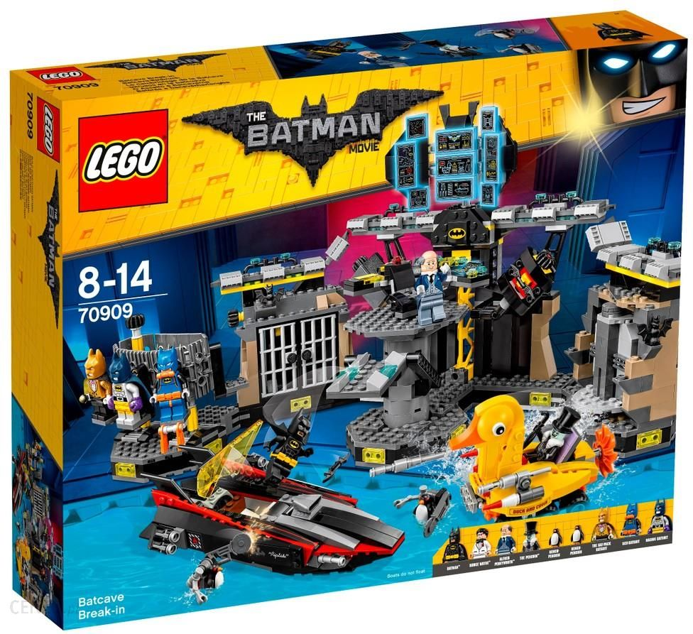 klocki lego batman movie w amanie do jaskini batmana 70909 ceny i opinie. Black Bedroom Furniture Sets. Home Design Ideas