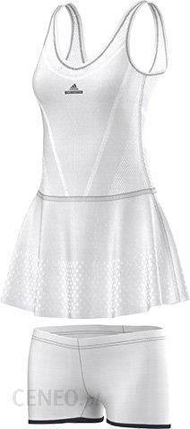 b649e872d Adidas Sukienka By Stella Mccartney Barricade Dress - White Ap4833 -  zdjęcie 1