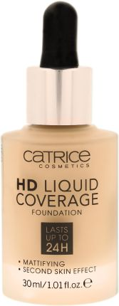 Catrice HD Liquid Coverage Płynny Podkład do Twarzy 010 Light Beige 30ml
