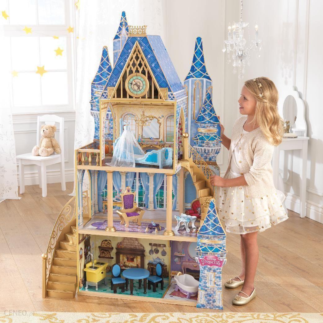 kidkraft disney princess domek dla lalek zamek kopciuszka 65400 ceny i opinie. Black Bedroom Furniture Sets. Home Design Ideas