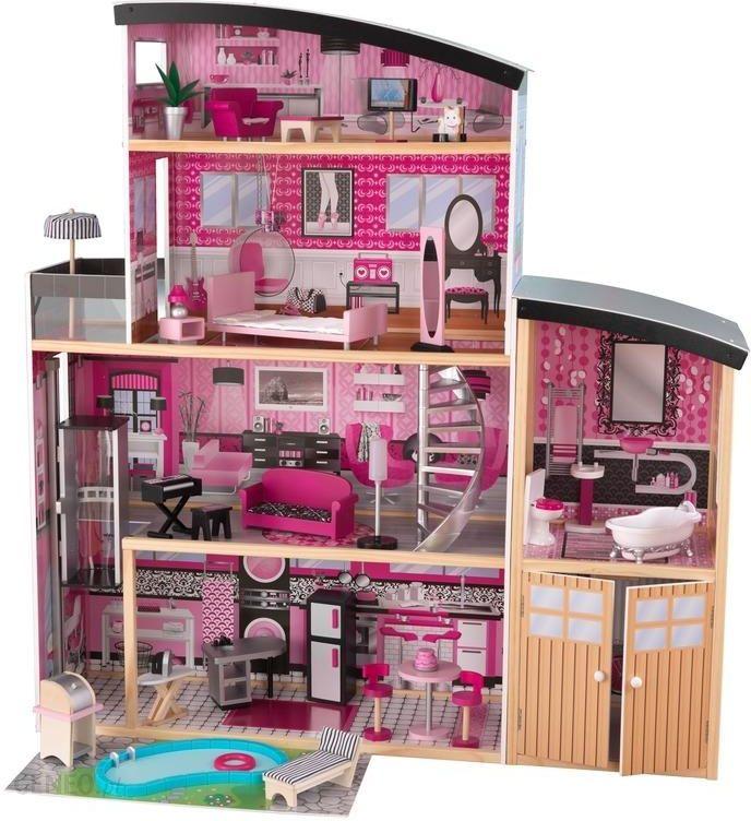 Kidkraft Domek Dla Lalek Barbie Błyszcząca Willa 65826