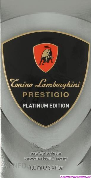 tonino lamborghini prestigio platinum woda toaletowa 100ml. Black Bedroom Furniture Sets. Home Design Ideas