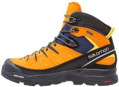 Buty trekkingowe X Alp MTN GTX Salomon (niebiesko żółte