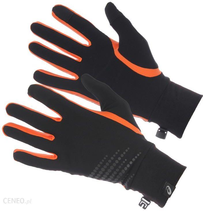 Asics Rękawiczki Do Biegania Basic Performance Gloves 134927 6002 Czarny