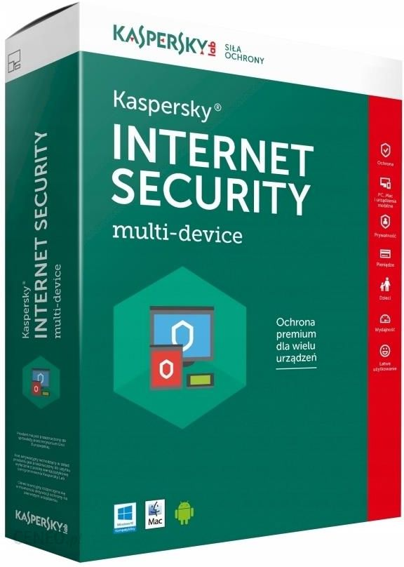 Kaspersky Internet Security multi-device 1 Desktop licencja na rok (KL1941PCAFSESD)