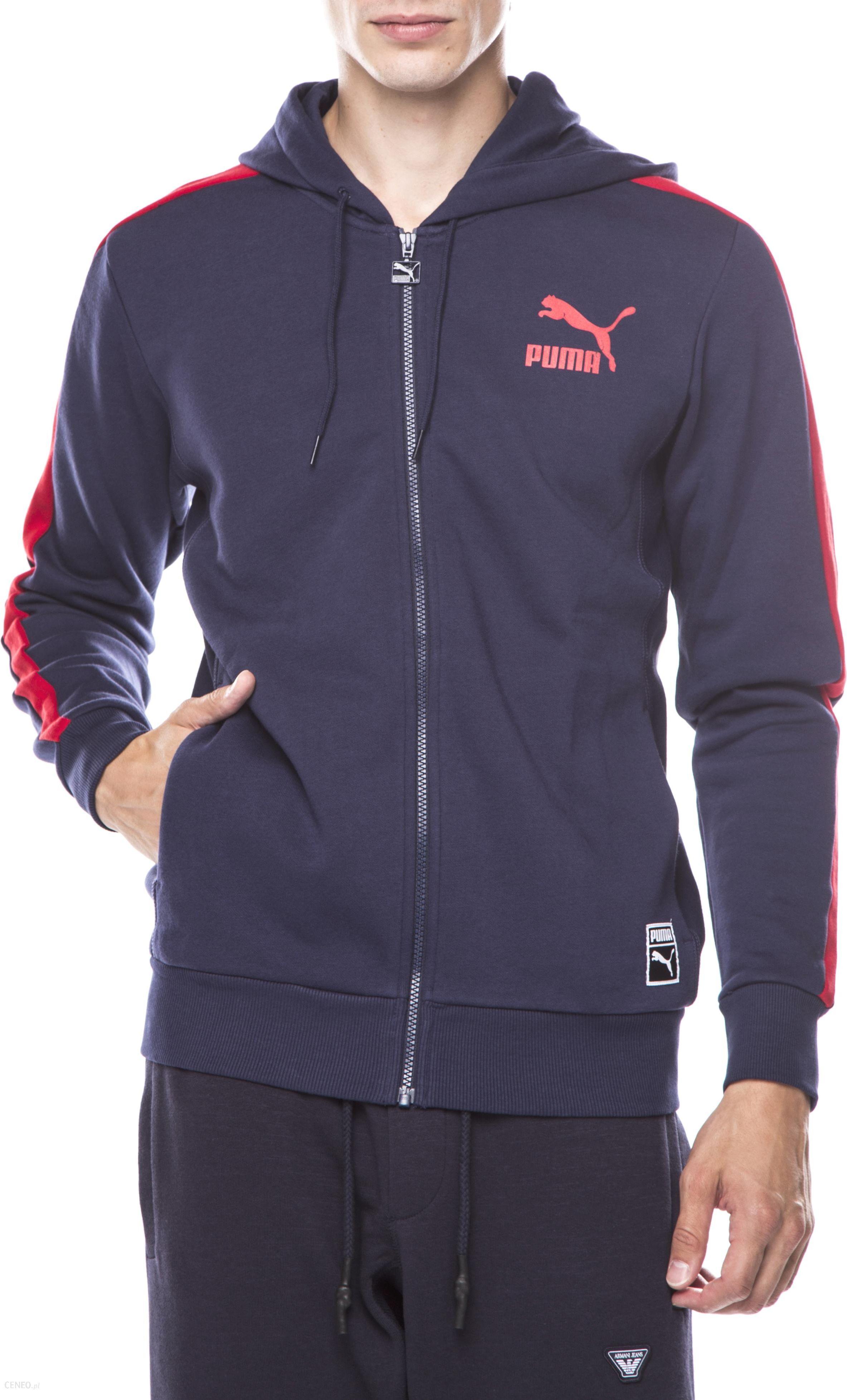 wyprzedaż hurtowa sklep wybór premium Puma T7 Bluza Niebieski L