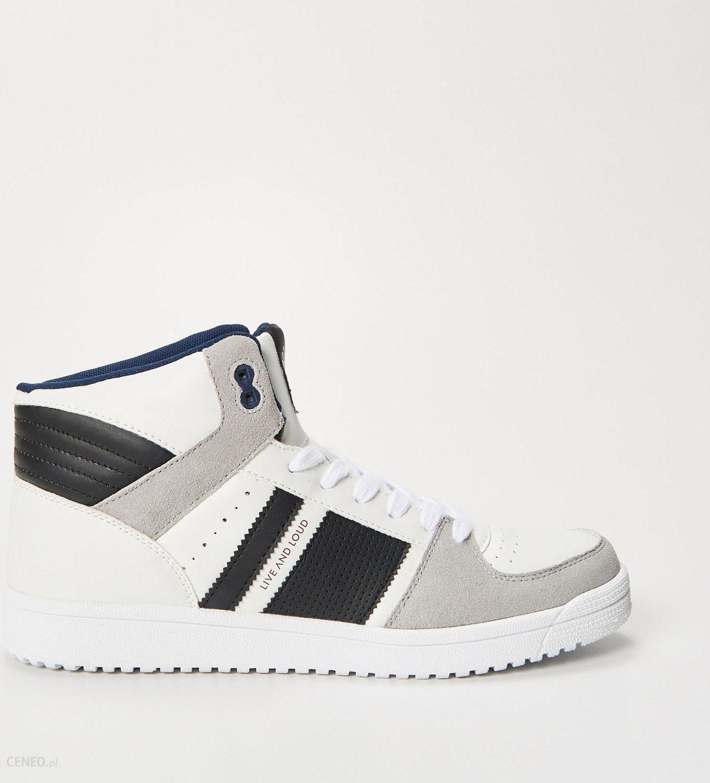 House Sneakersy za kostkę Biały męska