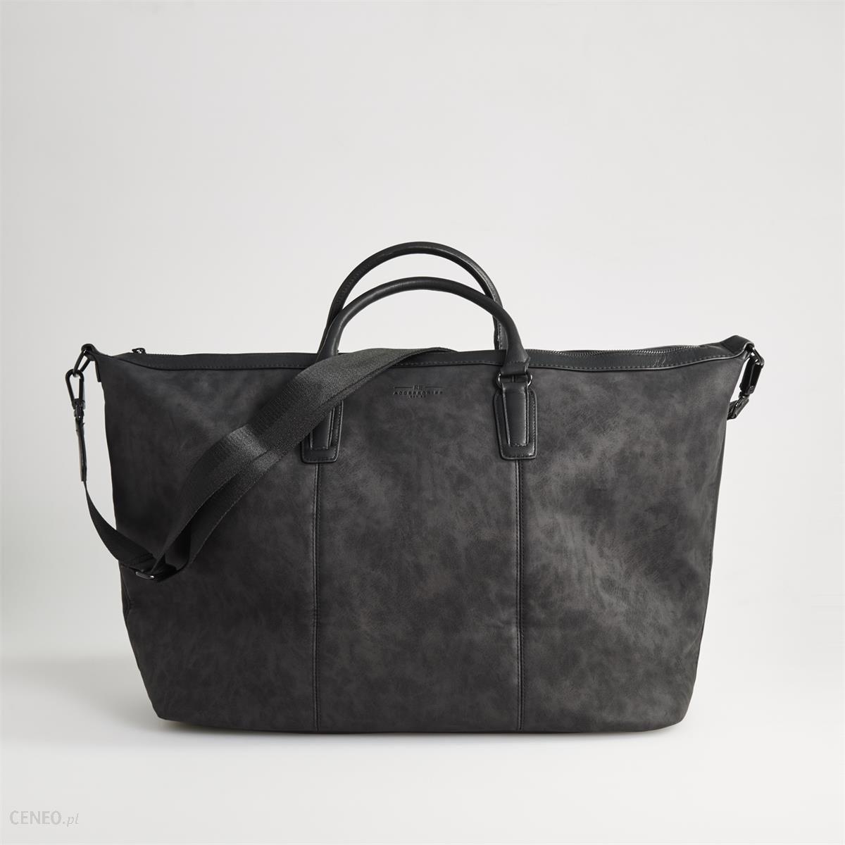 f2df66801622f Reserved - Weekendowa torba podróżna - Szary - męska - Ceny i opinie ...