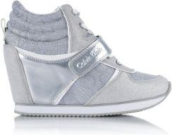 Viridiana Jacquard buty sportowe na koturnie Ceny i opinie Ceneo.pl