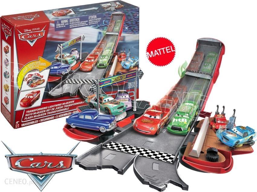 Mattel Cars Auta Rozkładany Tor Wyścigowy Dvf38 Zdjęcie 1