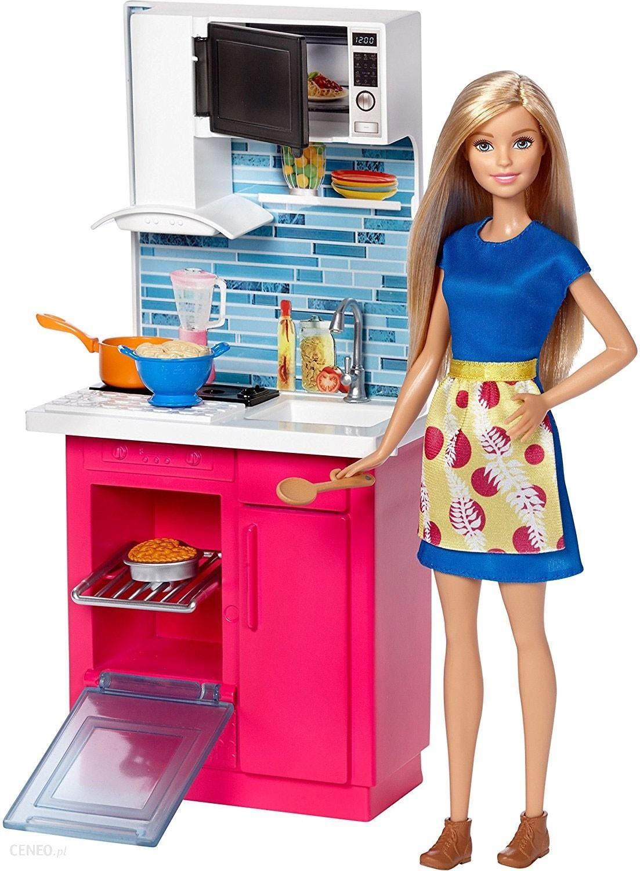 Lalka Barbie Kuchnia Mebelki Lalka Zestaw Dvx44 Dvx54 Ceny I
