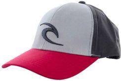 czapka z daszkiem RIP CURL - Icon Cap High Rise Grey (3387)