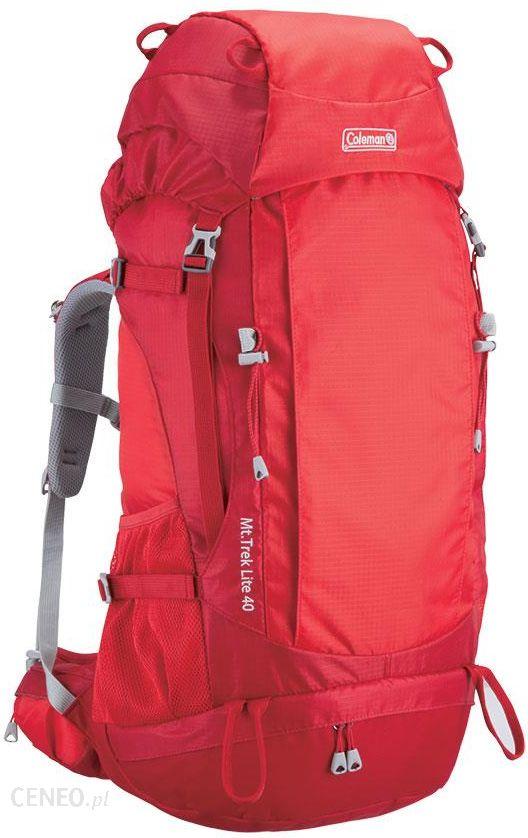 f0244ae29b21e Plecak Coleman Mt. Trek 40 Czerwony 40 L - Ceny i opinie - Ceneo.pl