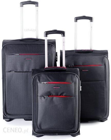 c3e69cf8f1ec8 Komplet walizek na 2 kółkach Puccini Camerino - czarny - Ceny i ...
