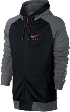 bluza męska Nike Bluza Sportswear Hoodie czarne 832148 091