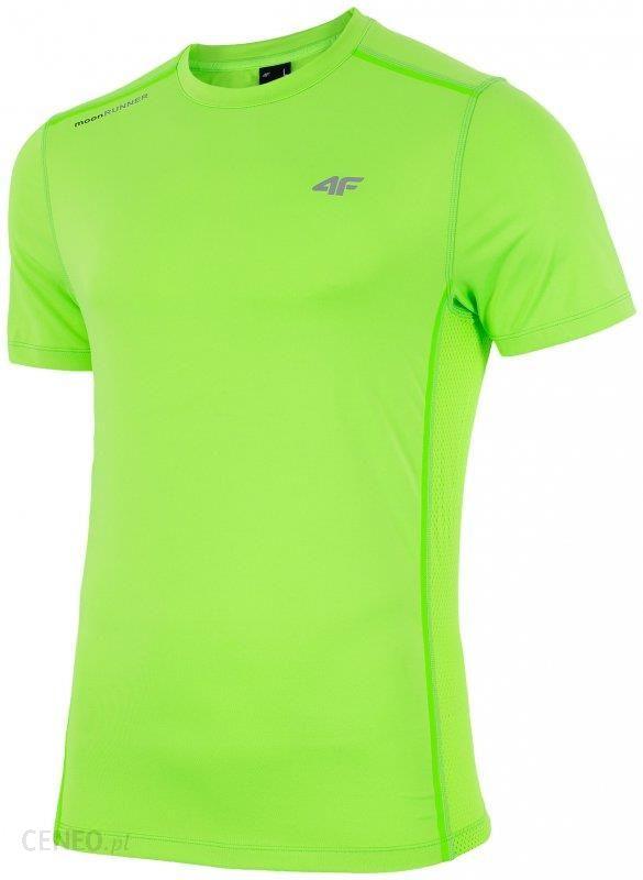 Koszulka treningowa męska TSMF204 jasny zielony neon