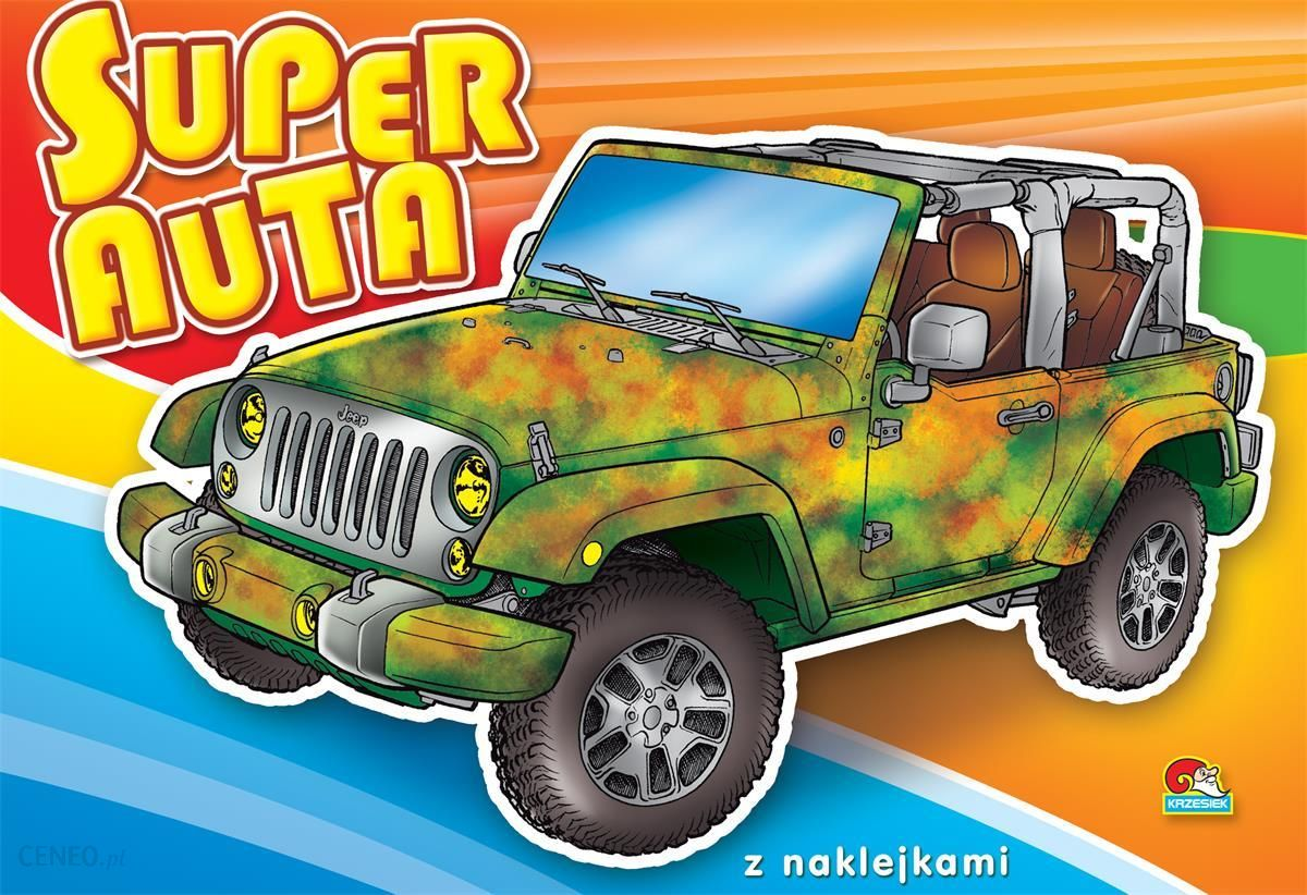 Kolorowanka Super Auta Terenowy B5 12 Str Ceny I Opinie Ceneo Pl