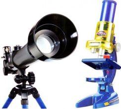 Dromader Teleskop I Mikroskop Zestaw Edukacyjny