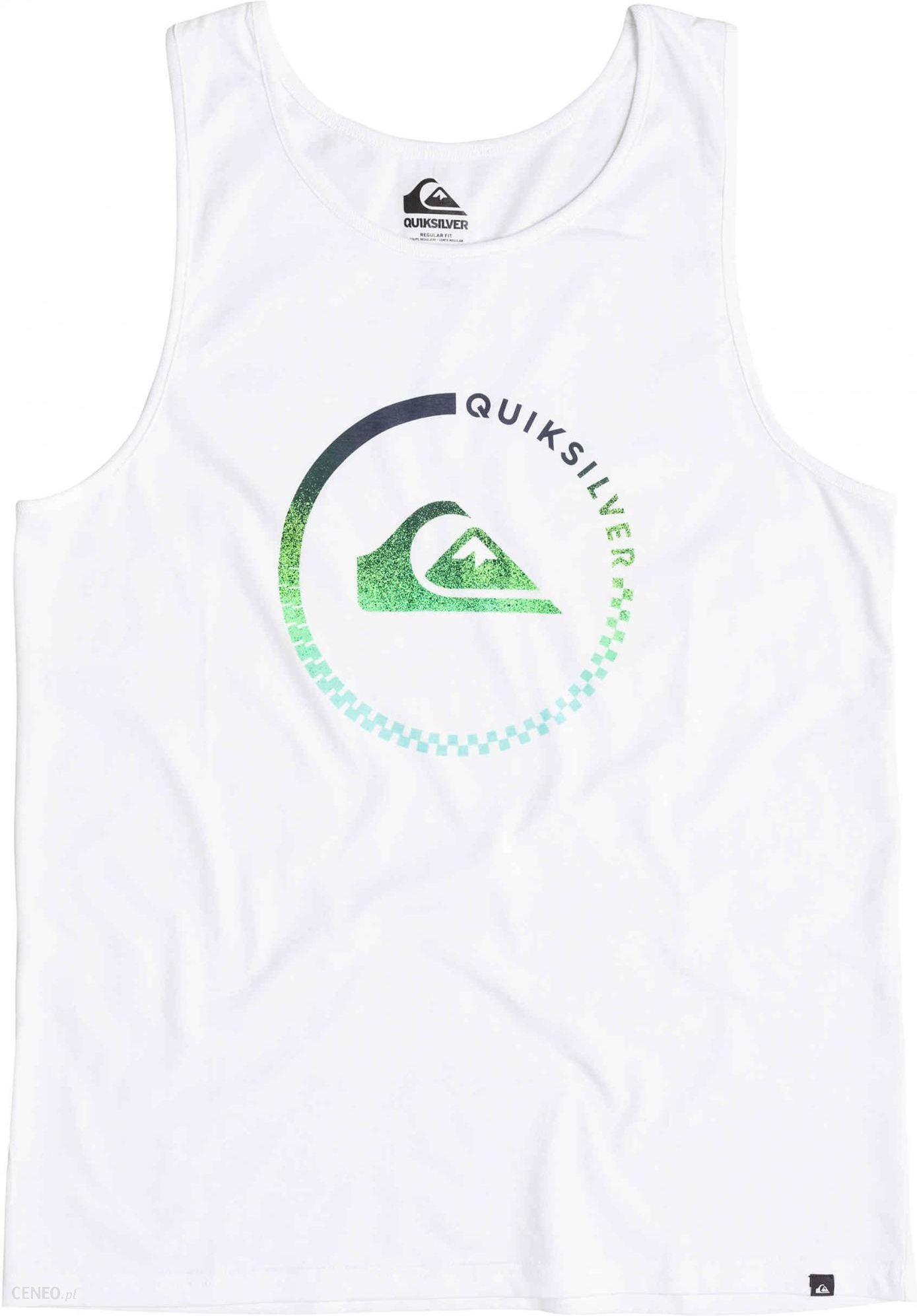 24b60a58335cb9 Quiksilver koszulka Classic Everyday Active M Tees White - Ceny i ...