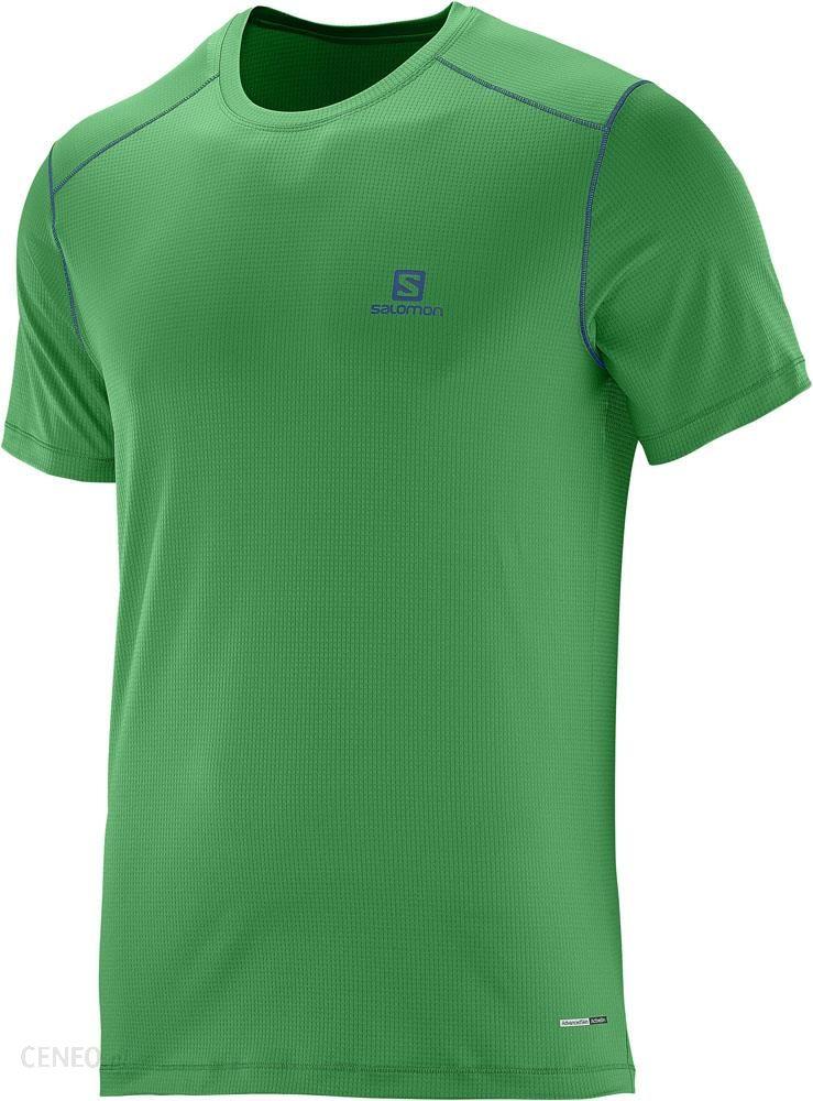 Koszulka męska Agile SS Tee Salomon (blithe) sklep online