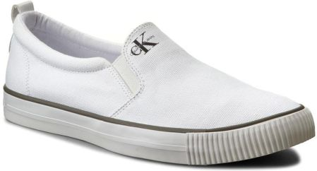 6525c4978fcea Podobne produkty do Tenisówki TOMMY HILFIGER - Lightweight Corporate Slip  On FM0FM01634 White 100