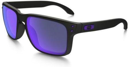 Okulary Oakley Holbrook Julian Wilson Series Matte Black Violet Iridium  OO9102-26 4eeb1f32f9