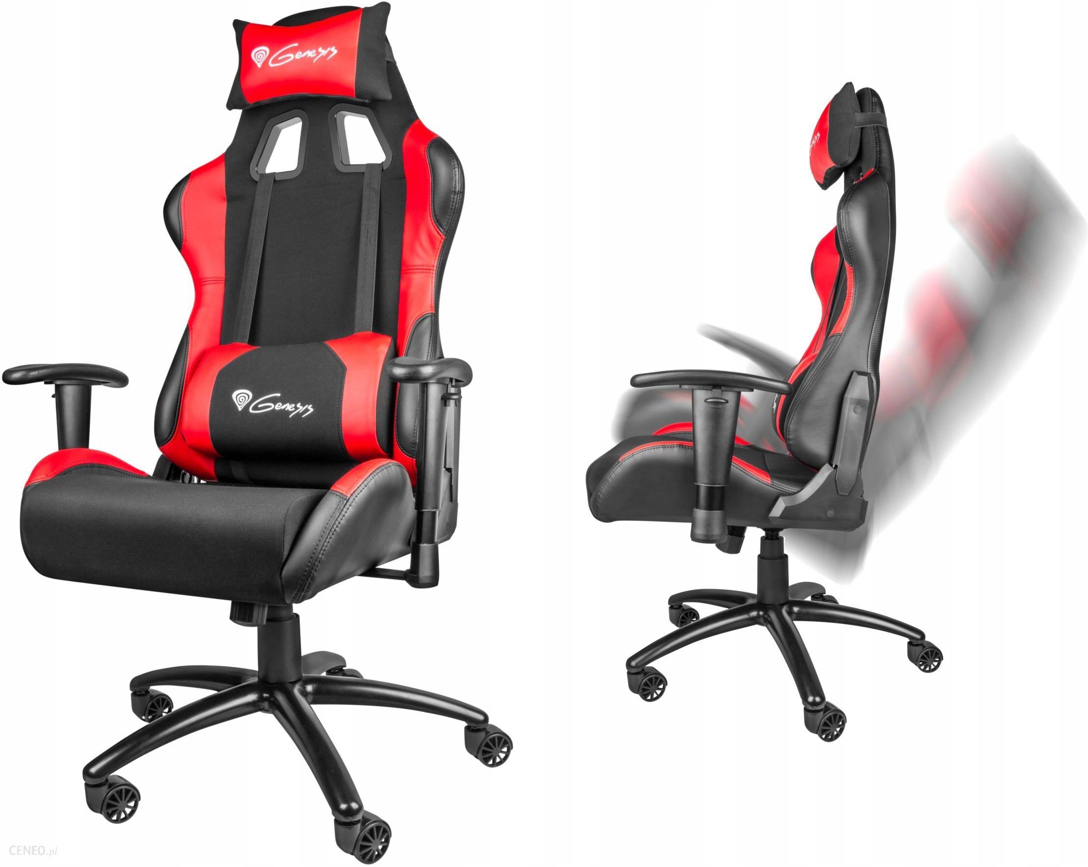 Fotel Dla Gracza Genesis Nitro 550 Czarno Czerwony Nfg0784 Ceny I Opinie Ceneo Pl