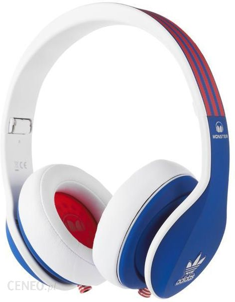 Monster Adidas Over Ear Blu Red