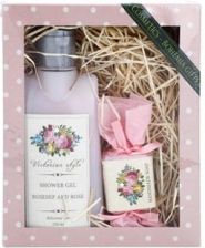 Bohemia Gifts Cosmetics Victorian Style I. Shower Gel 250ml + Hand Made Soap 30g