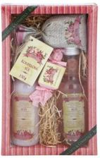 Bohemia Gifts Cosmetics Rosarium I. Hair Shampoo 200ml + Shower Gel 200ml + Bath Salt 150g + Handmade Soap 30g