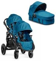 Baby Jogger City Select Double Duo Teal Głęboko Spacerowy