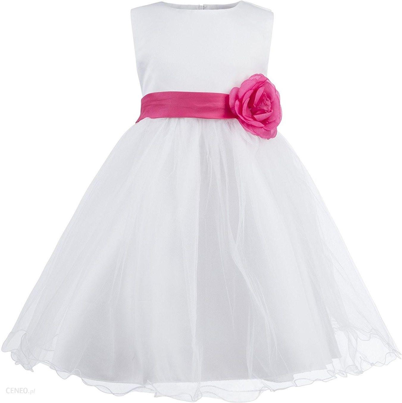 158ed0895a Rubies Piękna sukienka dla dziewczynek komunia ślub przebranie - zdjęcie 1