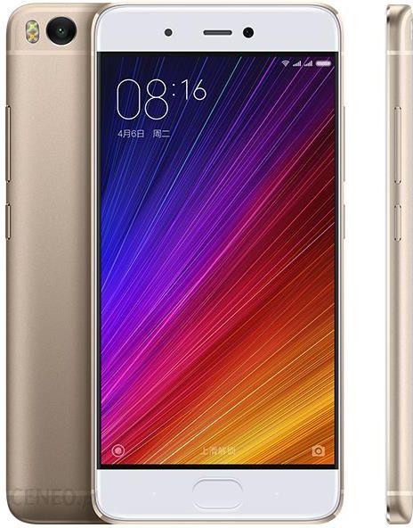 Xiaomi Mi5s 3 64gb Zloty Cena Opinie Na Ceneo Pl