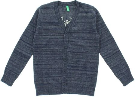 United Colors of Benetton Sweter dziecięcy Szary 6-7  years old