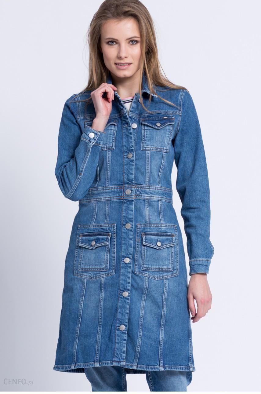 Pepe Jeans Płaszcz jeansowy Louise