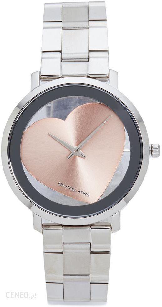 494d2e14e446f Michael Kors Jaryn Heart Watch - Silver/Rose Gold - zdjęcie 1